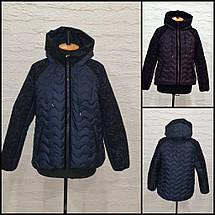 Женская демисезонная куртка  М-591, р-ры 50,52, фото 3