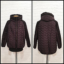 Женская демисезонная куртка  М-591, р-ры 50,52, фото 2