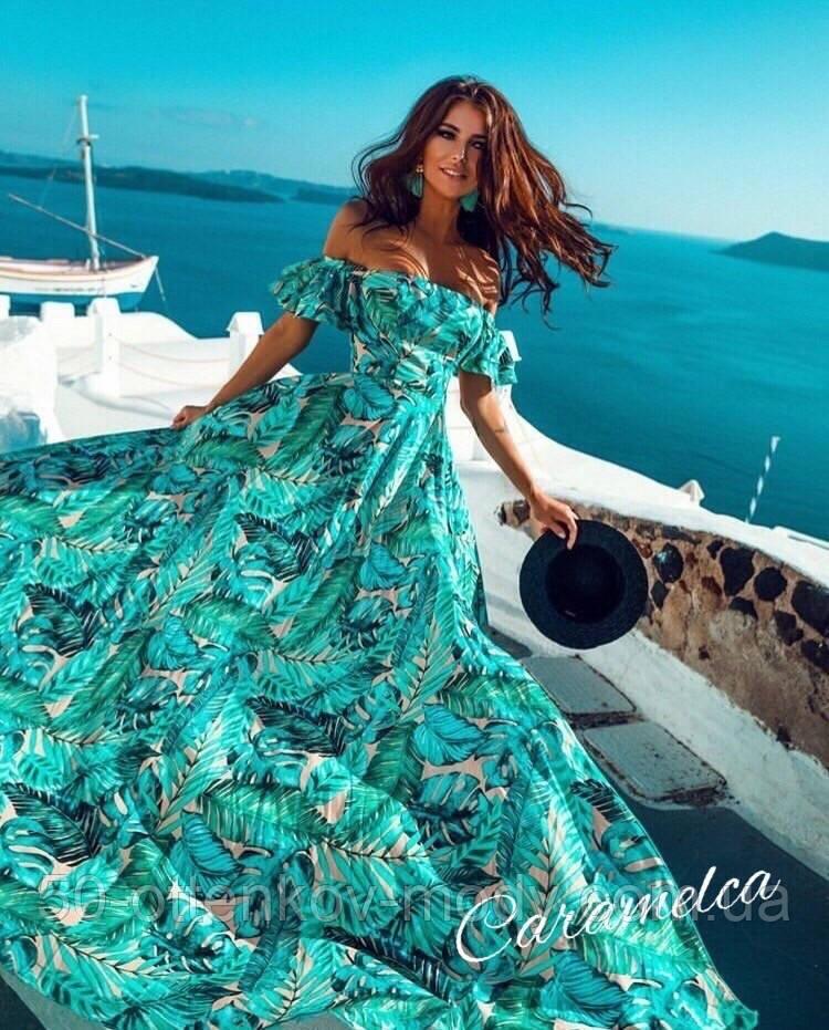 Шикарное ,богатое платье платье в пол, софт люкс