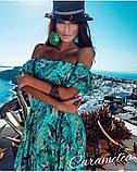 Шикарное ,богатое платье платье в пол, софт люкс, фото 2