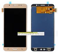 Модуль (сенсор+дисплей) для Samsung J710F, J710FN, J710H, J710M Galaxy J7 TFT С РЕГУЛИРОВКОЙ ЯРКОСТИ золотой