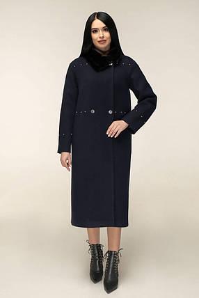 Женское зимнее пальто П-1234 и/м Шерсть пальтовая 113-1712 Тон 16, фото 2