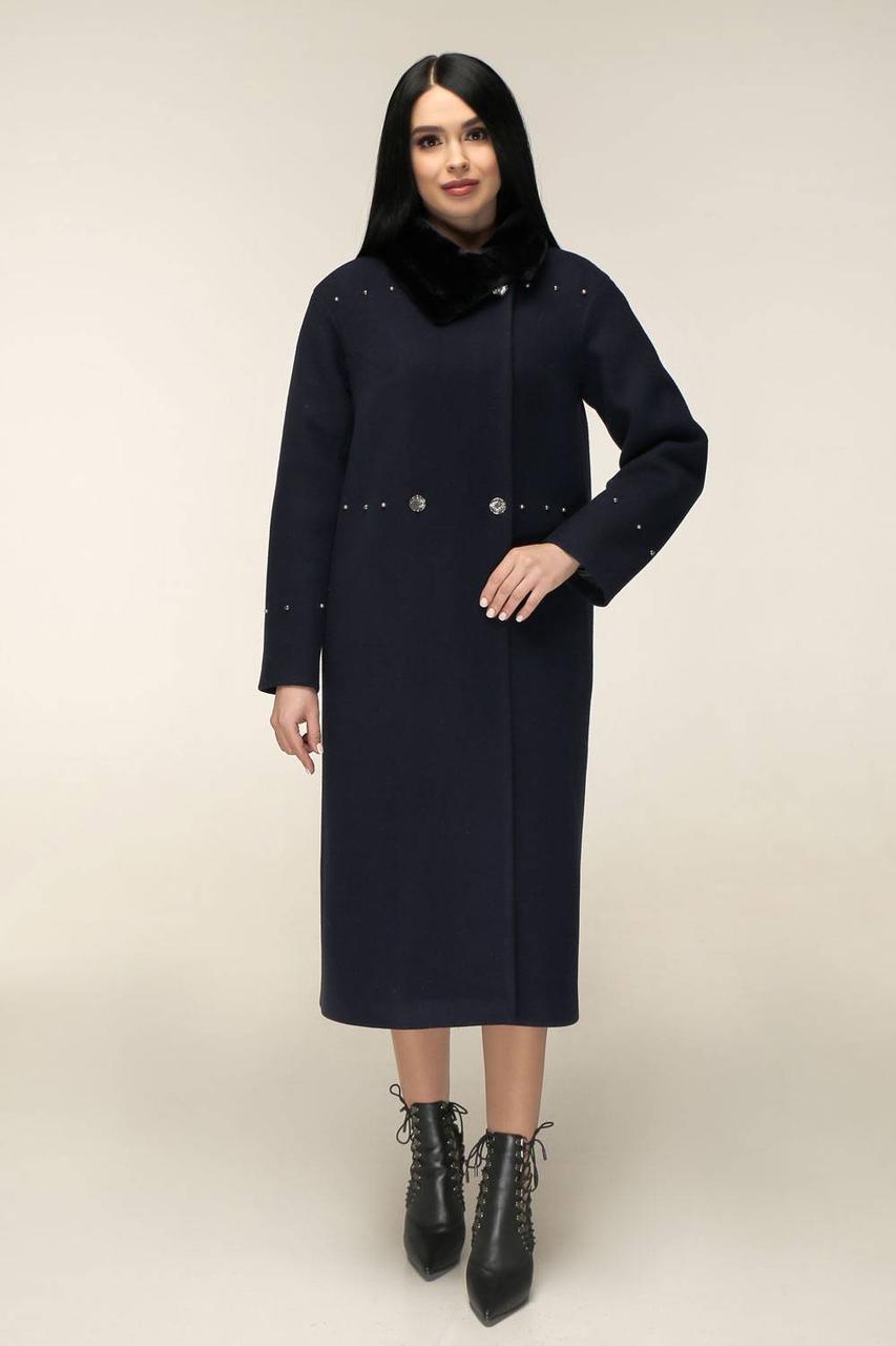 Женское зимнее пальто П-1234 и/м Шерсть пальтовая 113-1712 Тон 16