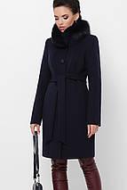 Элегантное зимнее пальто миди длины П-330-90, фото 2