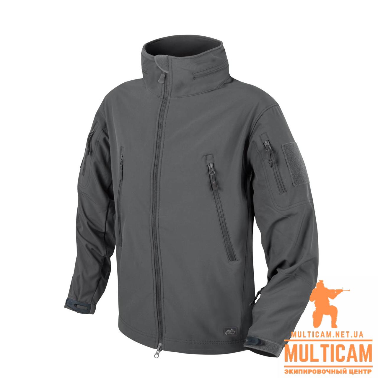 Куртка Helikon-Tex® GUNFIGHTER Jacket - Shark Skin Windblocker - Shadow Grey