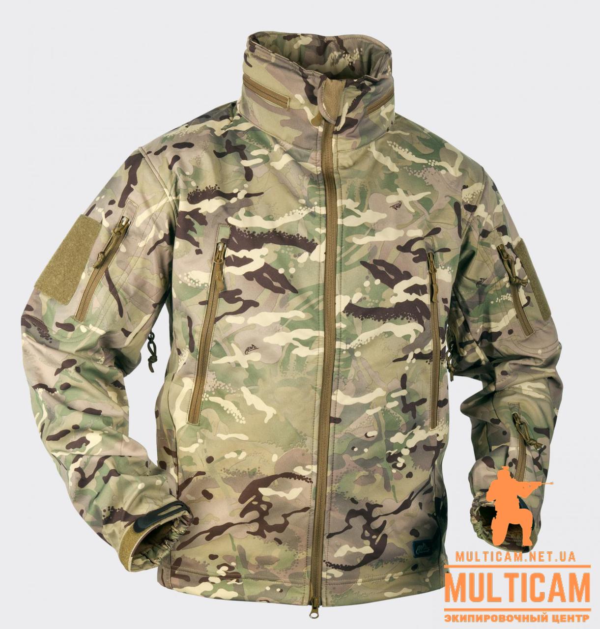 Куртка Helikon-Tex® GUNFIGHTER Jacket - Shark Skin Windblocker - MP Camo®