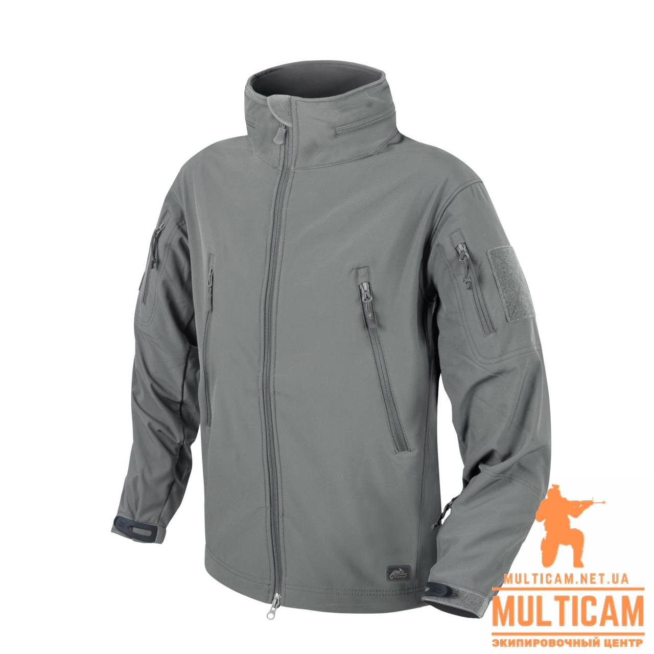 Куртка Helikon-Tex® GUNFIGHTER Jacket - Shark Skin Windblocker - Foliage Green