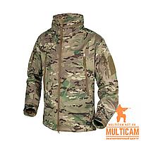 Куртка Helikon-Tex® GUNFIGHTER Jacket - Shark Skin Windblocker - Camogrom®, фото 1