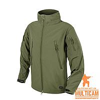 Куртка Helikon-Tex® GUNFIGHTER Jacket - Shark Skin Windblocker - Olive Green, фото 1