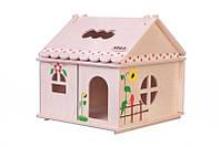 Кукольный домик Hega с росписью 1эт. (039), фото 1