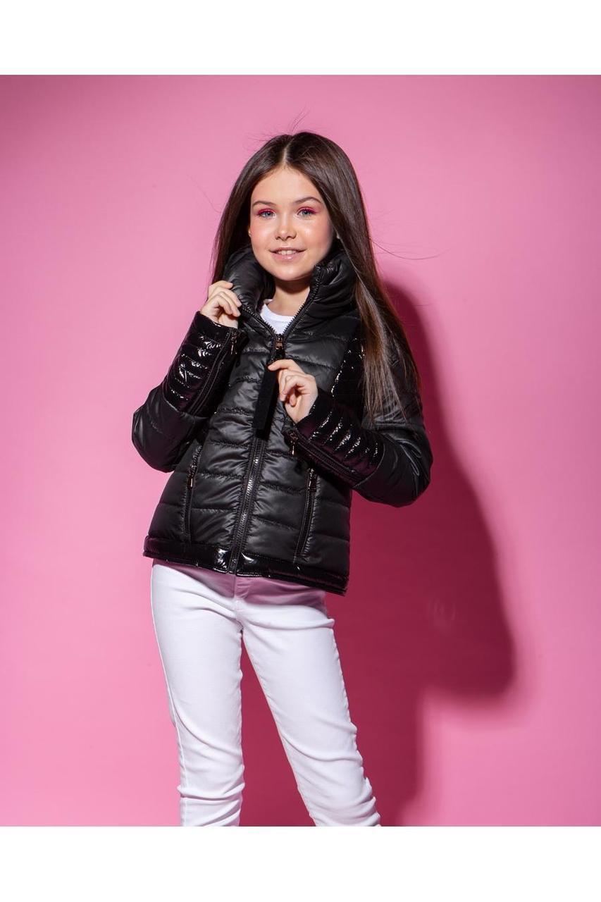 Стильная демисезонная куртка для девочки VKD-23