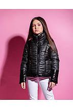 Стильная демисезонная куртка для девочки VKD-23, фото 2