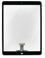 Тачскрин (сенсор) для iPad Air 3 2019 (A2123/A2152/A2153), черный, полный комплект, оригинал