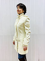 Пальто женское белое Perspective демисезонное