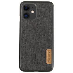 """Чехол для Apple iPhone 11 (6.1"""") G-Case Textiles Dark series, накладка"""