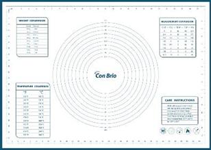 Кондитерский коврик 50х70см Con Brio 677CBmix