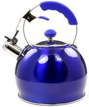 Чайник 3 л со свистком со свистком Lessner LS 49508