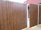 Забор из профнастила матовый, фото 4