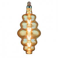 """Лампа филаментная LED """"ORIGAMI-XL"""" 8W Horoz E27 (2400K) Amber., фото 1"""