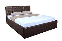 Кровать с мягким изголовьем и подъемным механизмом Моника MELBI 140х200