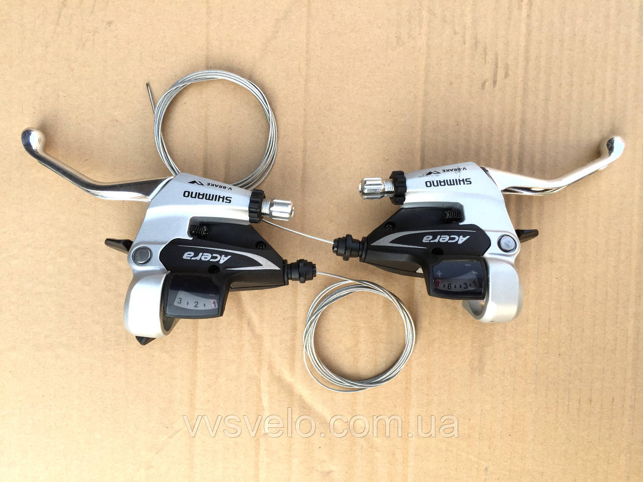 Моноблоки Shimano Acera ST-M360 правый+левый