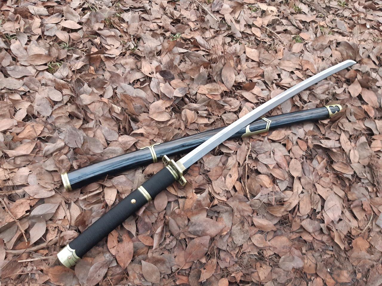 Самурайский меч катана  на подставке 1654