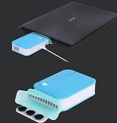 Внешний кулер для ноутбука вакуумный