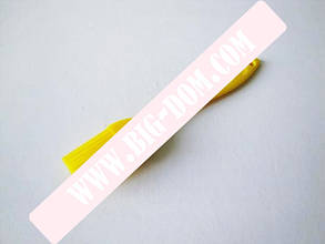 Кисточка силиконовая 3*17см с цветной ручкой VT6-18779