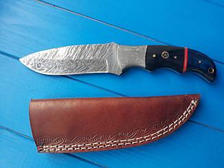 """Нож охотничий  Дамаск  """"Сармат""""  эксклюзив,ручная работа"""