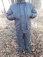 """Зимний костюм для рыбалки и охоты Таслан """"Графитовый """" С"""