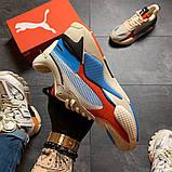 Жіночі Кросівки Puma Rs-x Reinvention Cream Red Blue, фото 3