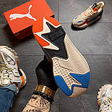 Жіночі Кросівки Puma Rs-x Reinvention Cream Red Blue, фото 4