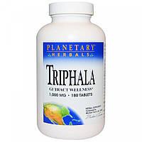 Planetary Herbals, трифала (180 таб. по 1000 мг), triphala