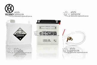 Аккумулятор 5A/12V высокий VLAND кислотный
