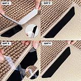 Липучки-фиксаторы для ковров прямые 8 шт/наб., фото 4