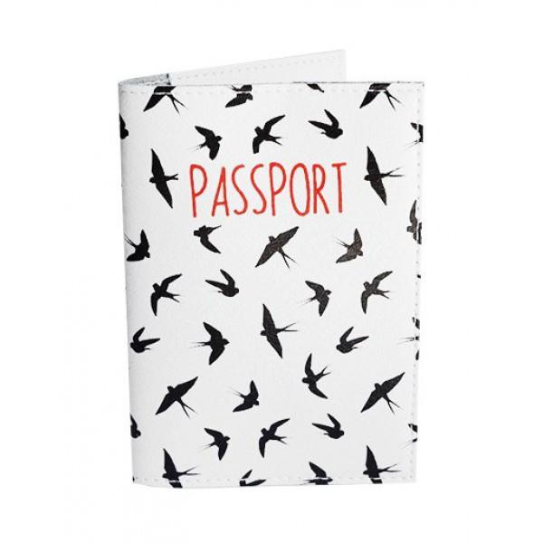Обложка для паспорта Ласточки