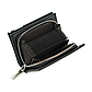 Мужской Кошелек Бумажник Baellerry Classical Mini (D1102) на Молнии для Карточек Черный, фото 7
