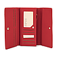 Женский Кошелек Портмоне на Кнопке для Карточек Weichen (A6901-007) Красный, фото 6