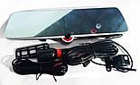 Зеркало видеорегистратор DVR на три камеры 5'' + touch C33, фото 2