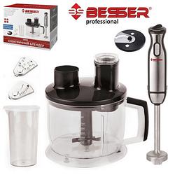 Блендер электрический 1000Вт, (Мультифит первый чоппер, стакан 600 мл с крышкой) 10203 (4наб)