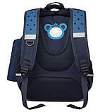 Школьный рюкзак с ортопедической спинкой и пеналом | детский портфель ранец для мальчика 1-2-3 класс, фото 2