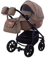 Дитяча коляска 2в1 Adamex Hybryd Plus BR279 Капучіно (мрамор), фото 1