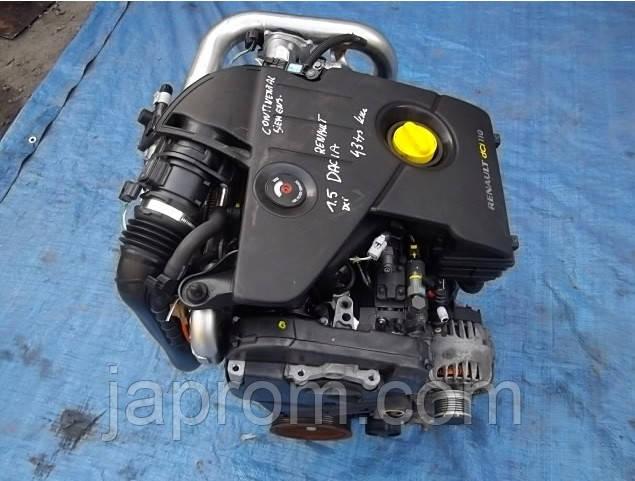Мотор (Двигатель) Dacia Duster Logan Lodgy 1.5 DCI 110 79 кВт K9K 896