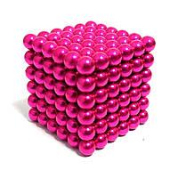 Неокуб Розовый Neocube 216 магнитных шариков 5 мм.
