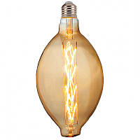 "Лампа филаментная LED ""ENIGMA-XL"" 8W Horoz E27 (2400K) Amber."