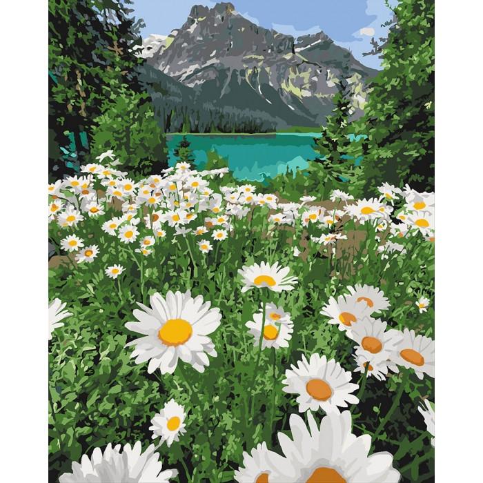 Картина по номерам Красота природы Идейка 40*50   КНО2819