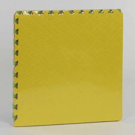 Коврик-пазл EVA С 36627 (10) массажный, 4шт в упаковке, 60х60см, фото 2