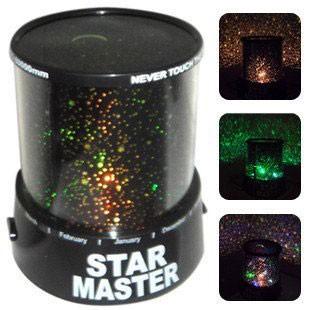 Детский ночник проектор звездного неба  Star Master (Стар Мастер)