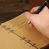 Винтажный блокнот Древо жизни. Голубой, фото 4