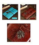 Винтажный блокнот Древо жизни. Коричневый, фото 3